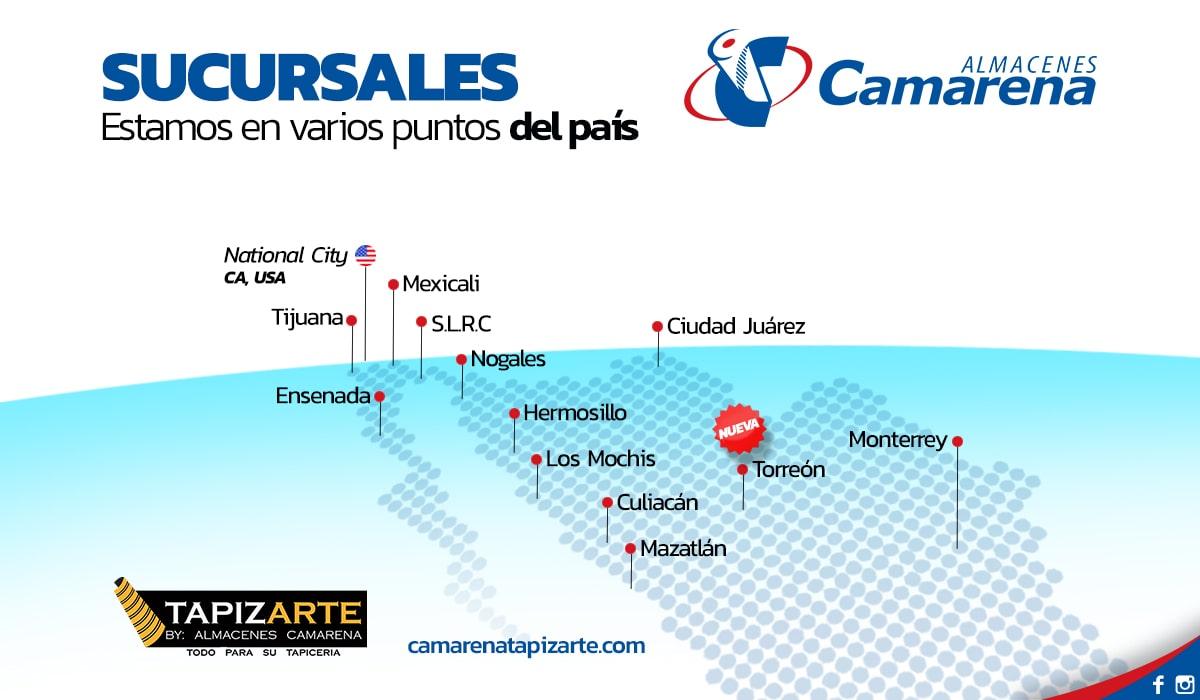 Almacenes Camarena - Sucursales